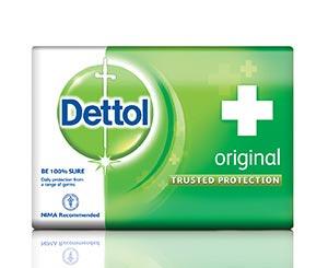 Dettol Green Soap Wrapper