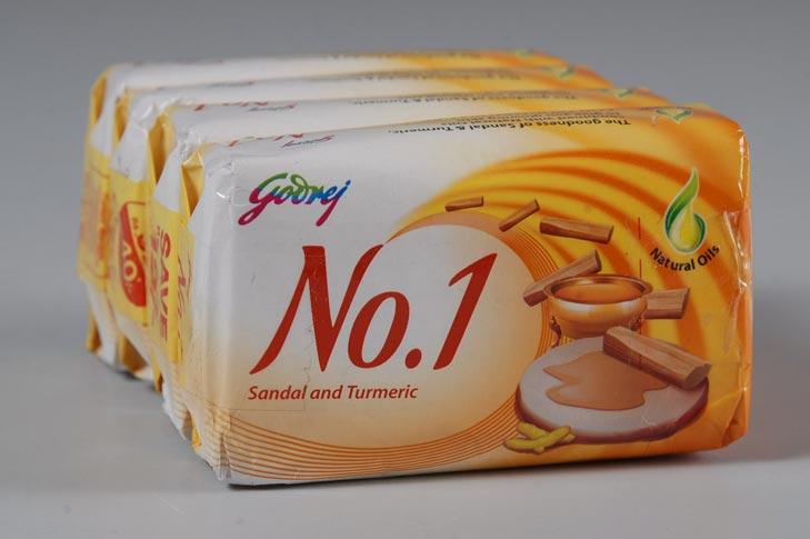 Godrej No 1 Sandal & Turmeric Soap Wrapper