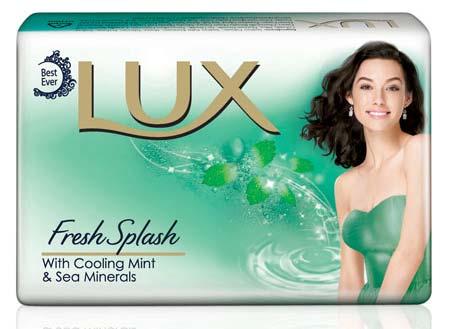 Lux Fress & Splash Soap Wrapper