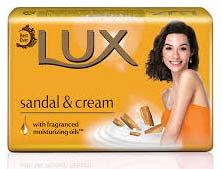 Lux Sandal & Cream Soap Wrapper
