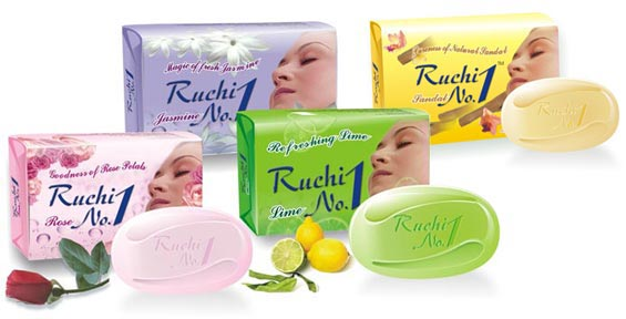 Ruchi No.1 Soap Wrapper