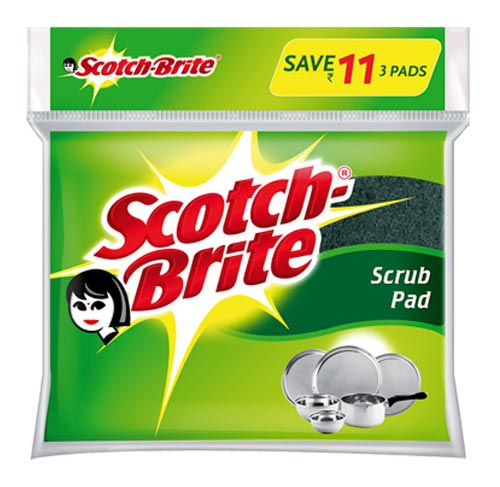 Scotch Brite Packaging Pouch