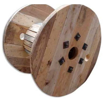 Wooden Reel Drums
