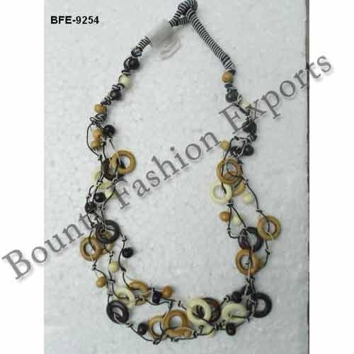 Bone Bead Necklaces