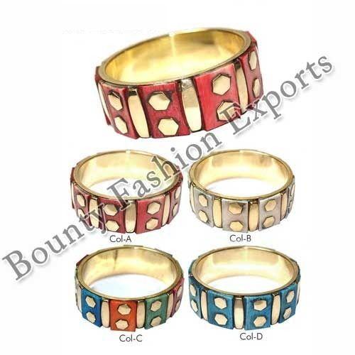 Bone Brass Bangles