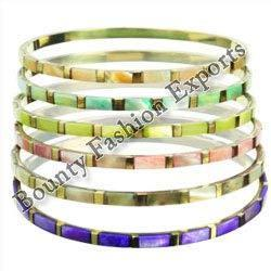 Brass Mop Bangle Set