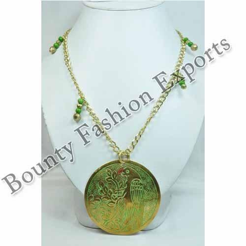 Trendy Brass Necklaces