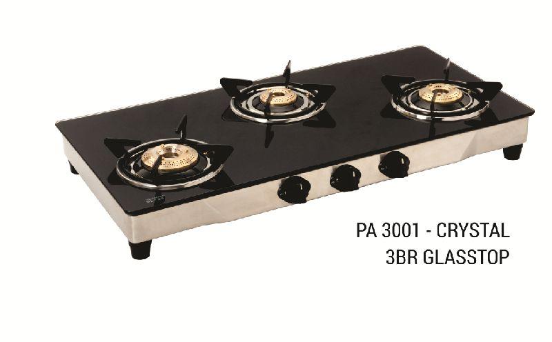 PA 3001 - Crystal 3 BR Glasstop