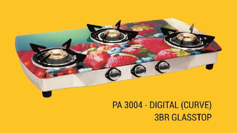 PA 3004 - Digital (Curve) 3 BR Glasstop