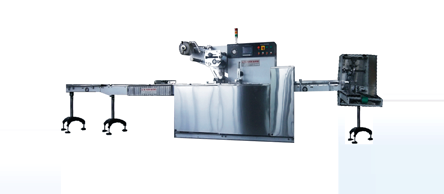 Horizontal Flow Wrap Machine 01