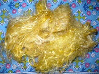 Throwster Silk Fiber