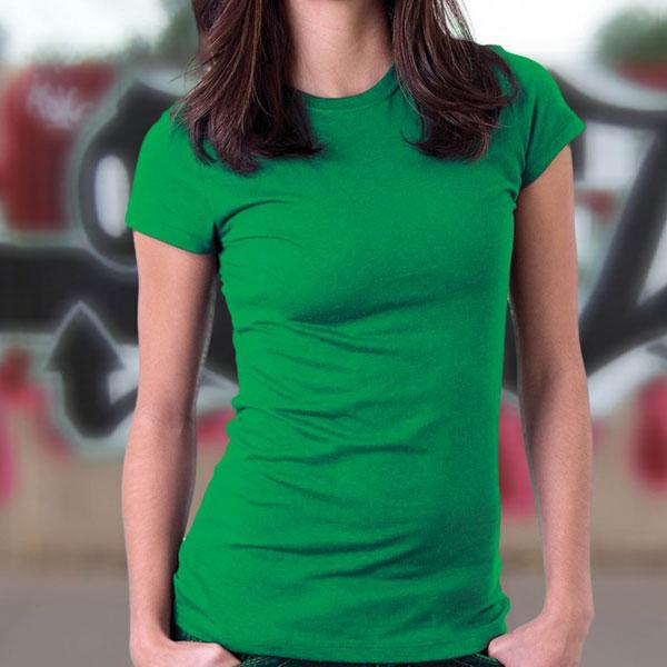 Ladies Round Neck T-Shirt 02