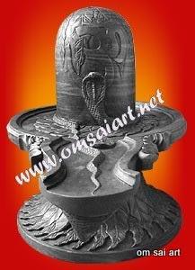 Marble Shiva Lingam