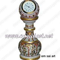 Marble Table Clocks