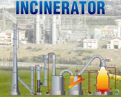 Incinerator System Liquid Waste Incinerators Solid Waste