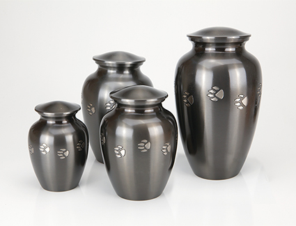 Paw Print Urns