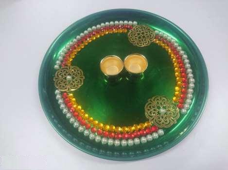 Decorative Pooja Thali 01
