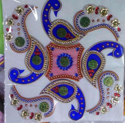 Decorative Rangoli 04