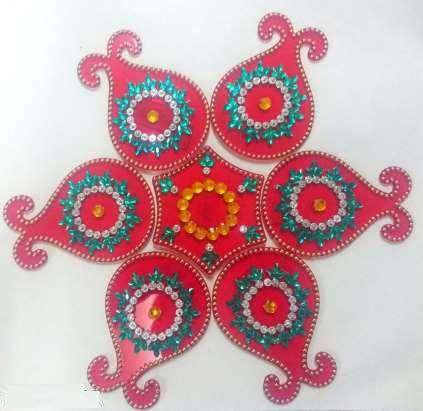 Decorative Rangoli 06
