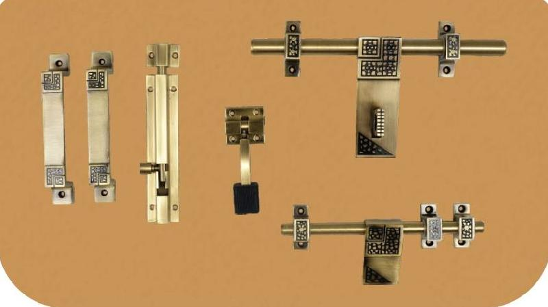 Aluminium Antique Door Kit 02