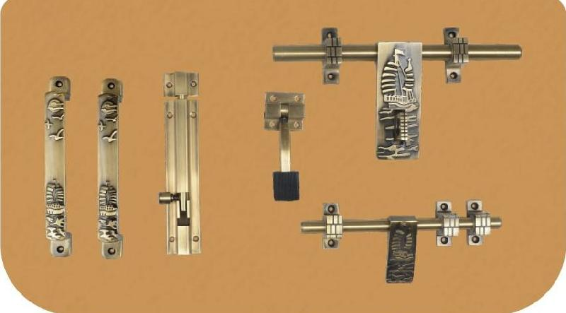 Aluminium Antique Door Kit 03