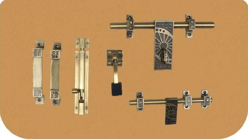 Aluminium Antique Door Kit