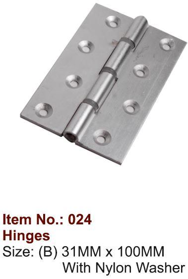 Aluminium Hinges (024) 02