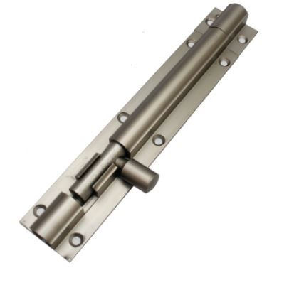 Aluminium Plain Tower Bolts With Aluminium Rod (004)