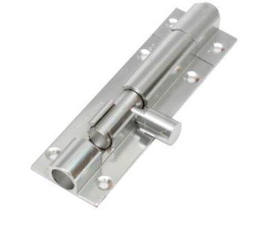 Aluminium Plain Tower Bolts With Aluminium Rod (005)
