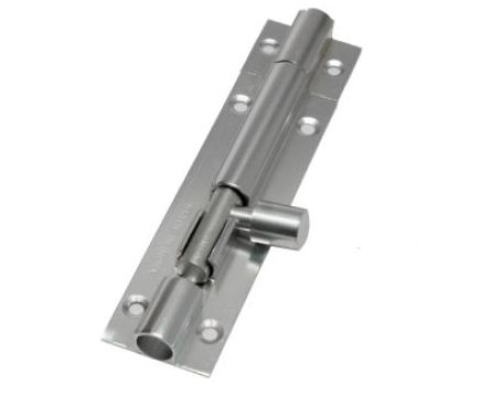 Aluminium Plain Tower Bolts With Aluminium Rod
