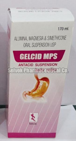 Gelcid MPS Antacid Suspension
