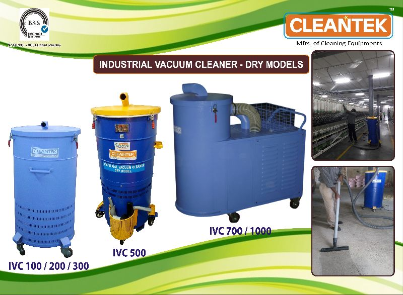 Three Phase Dry Vacuum Cleaner