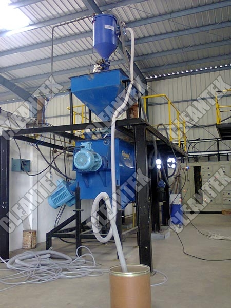 Industrial Vacuum Blower Systems : Industrial vacuum loader automatic control