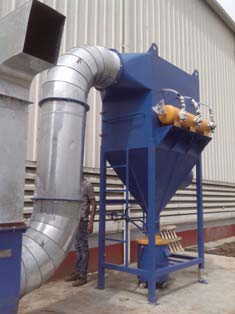 Pulse Jet Baghouse Dust Collector