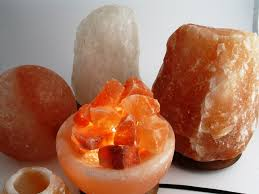 Himalaya Salt Crystal Lamps