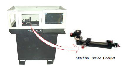 CNC Milling Machine (VPL-CNC-10L)