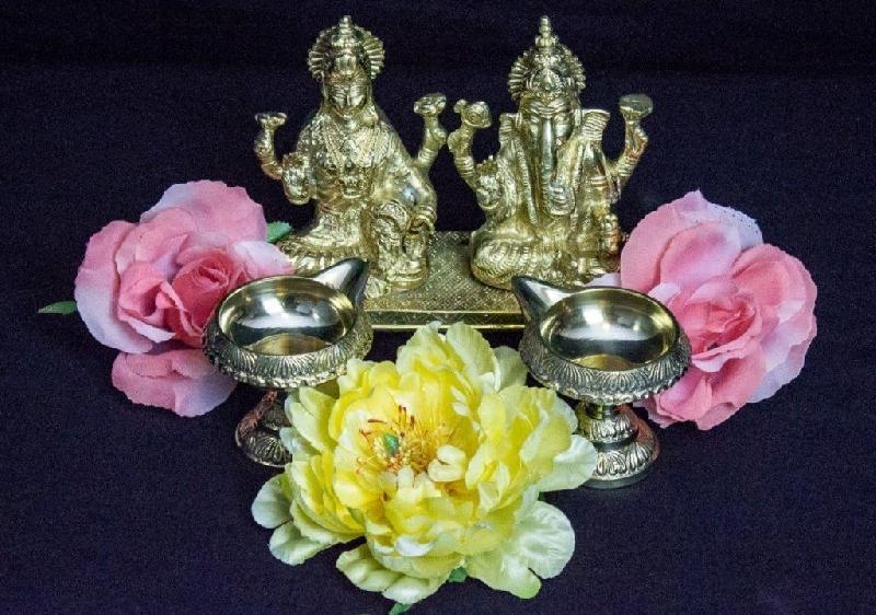Decorative Laxmi Ganesh Statue
