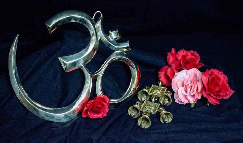Decorative Metal Om