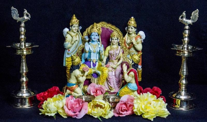 Decorative Ram Darbar Statue
