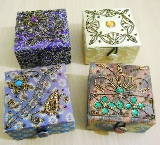 Decorative Beaded Boxes 03