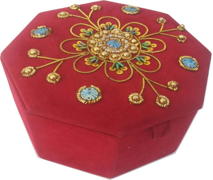 Decorative Beaded Boxes 05