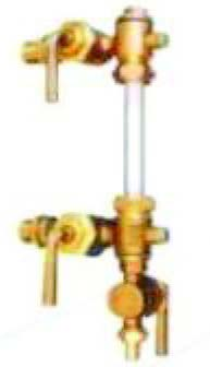 Bronze Gland Packed Water Level Gauges