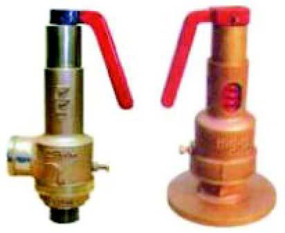 Bronze Spring Loaded Safety Valves