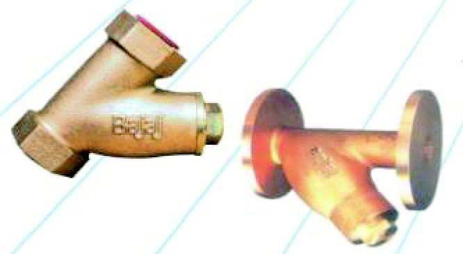 Bronze Y Type Strainers
