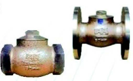 Leaded Tin Bronze Horizontal Check Valve