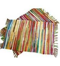 Multi Striped Chindi Rugs