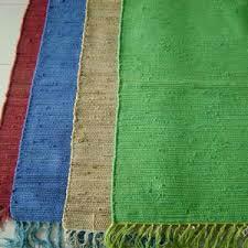 Plain Chindi Rugs