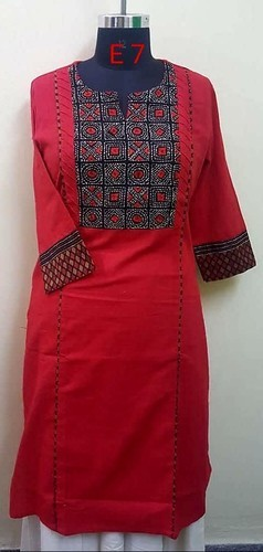 Ladies Cotton Kurti 01
