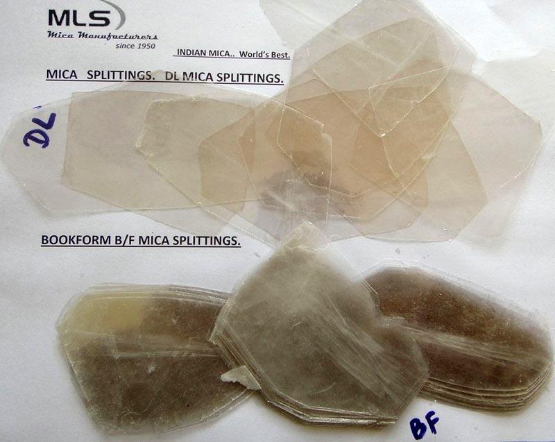 Mica Splittings