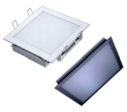 Square LED Recessed Panel Light